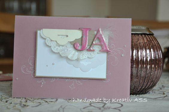 Karte Hochzeit JA2014
