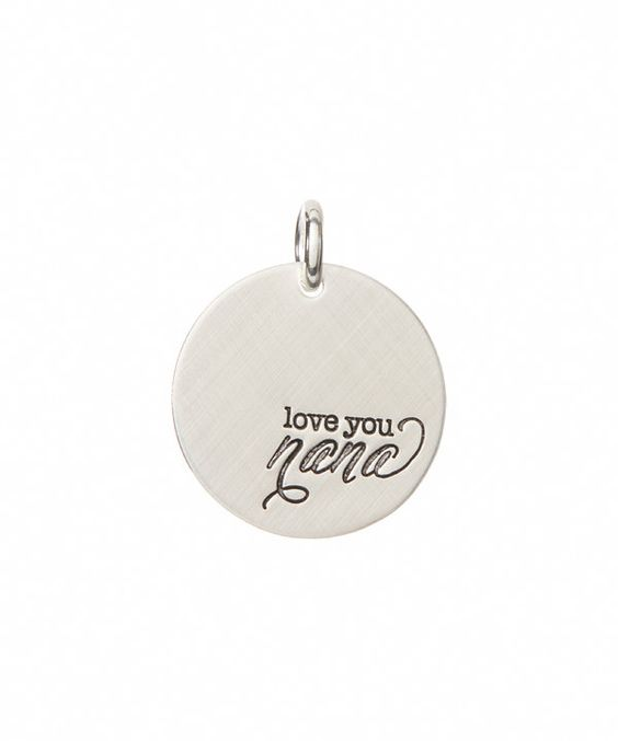 Look at this Sterling Silver 'Love You, Nana' Charm on #zulily today!
