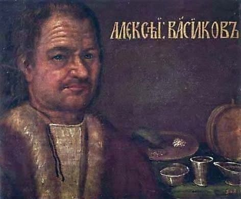 Парсуна Алексея Васикова: