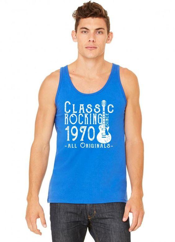 rocking since 1970 copy tank top