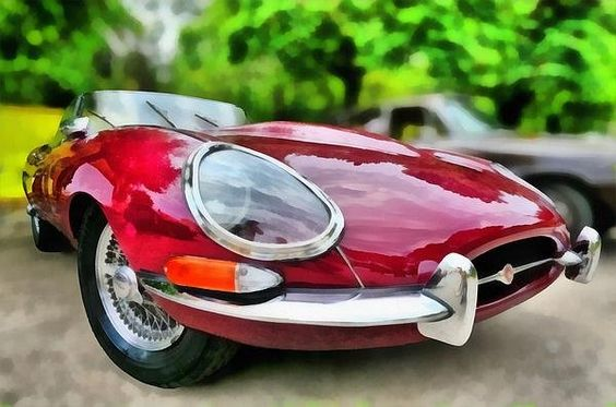 Jaguar E Type 1967 Print By George Atsametakis