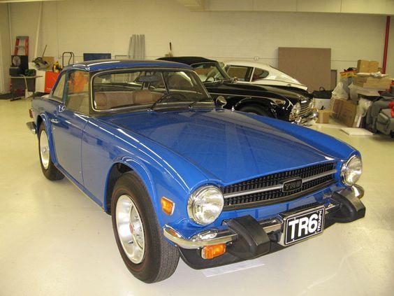 TR6 / blue