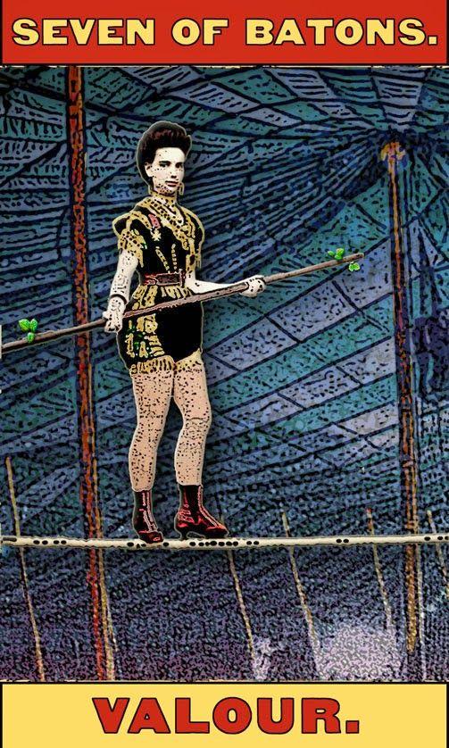 Tarot of the Zirkus Mägi: She Strikes Like a Thunderball