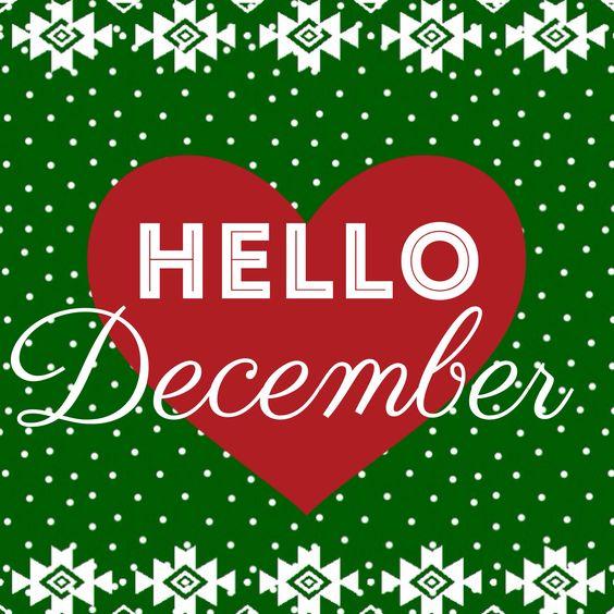 Hello #december ❤️: