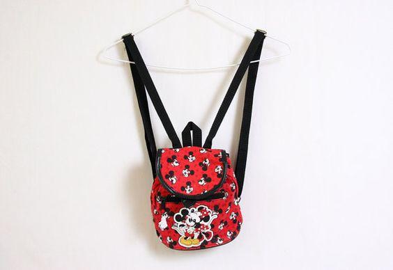 90s Mickey Mini Mouse Love Mini Back Pack