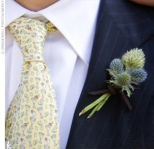 Parties By Kaci: Not Your Ordinary Boutonniere