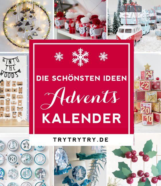 9 kreative und selbstgemachte DIY Adventskalender