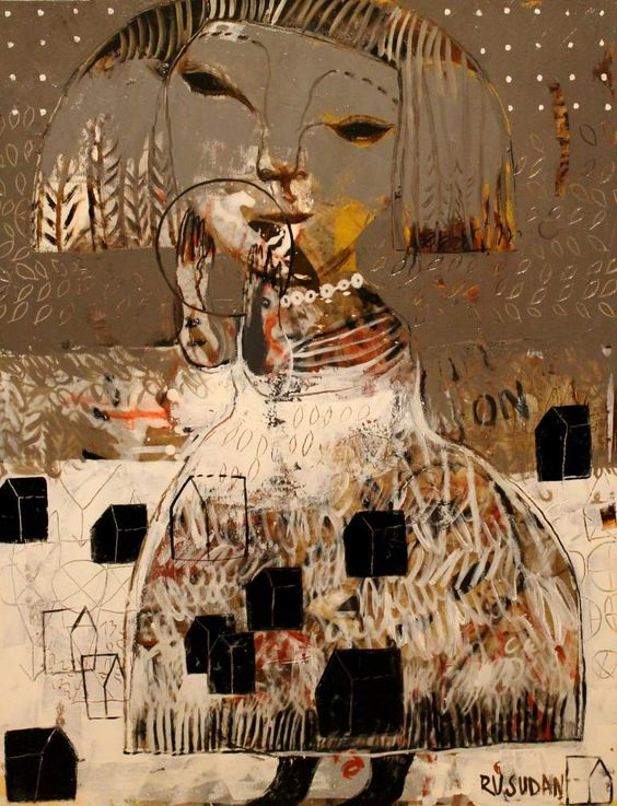 Rusudan Khizanishvili Art Painting Interesting Art