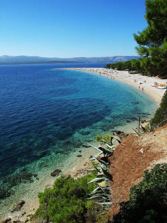 Playa de Zlatni Rat, Croacia