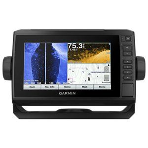 Garmin Echomap Plus 74sv Chartplotter Fishfinder Combo Garmin Transducer Fish Finder