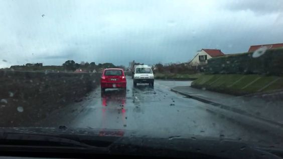 Storm in Guernsey