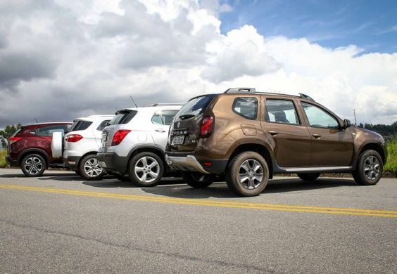 New Release Renault Duster 4WD Review Rear View Model