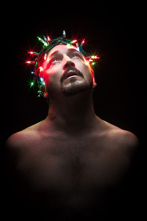 Christmas lights, Jesus and Crowns on Pinterest