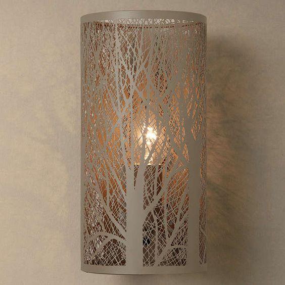 BuyJohn Lewis Devon Wall Light, Taupe Online at johnlewis.com