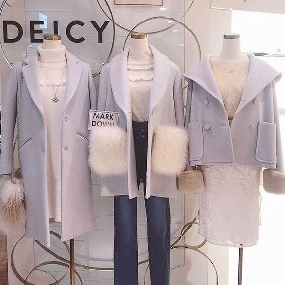 deicy_official:Recommend coat . 有楽町店おすすめのコートもセール対象アイテム❄️ 残りわずかとなっておりますので、お早めに♡♡ . 2018/01/14 19:45:32