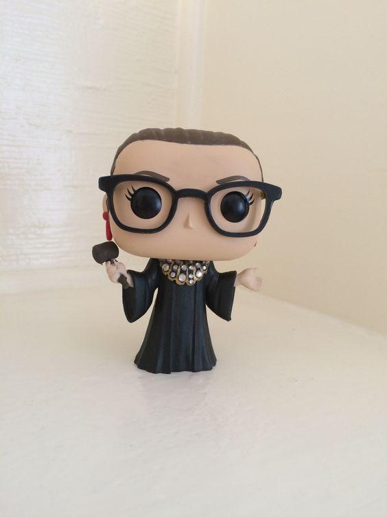 Make your own Ruth Bader Ginsburg Custom Funko POP! | nerd4all