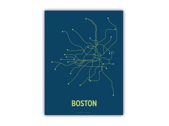 transit maps: boston