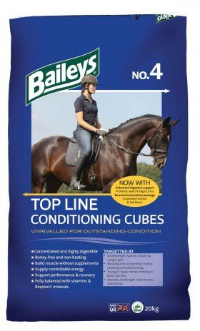 I have been supported by Baileys Horse feeds since 2008. The team have helped me make sure the horses have the correct ration. No 4 cubes have been a feed room staple.