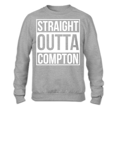 STRAIGHT OUTTA COMPTON - Crewneck Sweatshirt