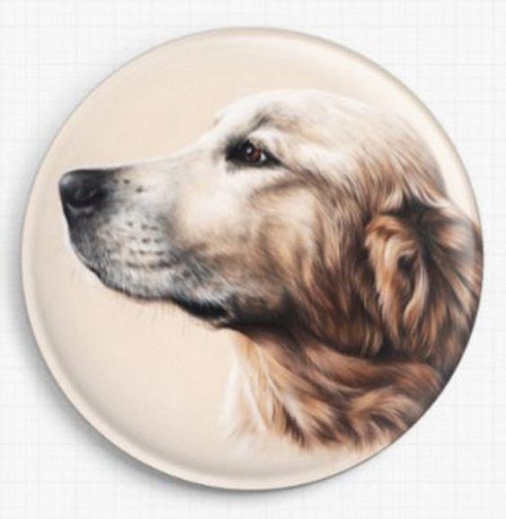 Dog Print Spaniel by Irina Garmashova
