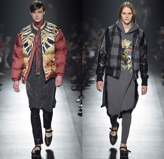 Mercedes Benz Leather Jacket: DressCamp By Toshikazu Iwaya 2015-2016 Fall Autumn Winter