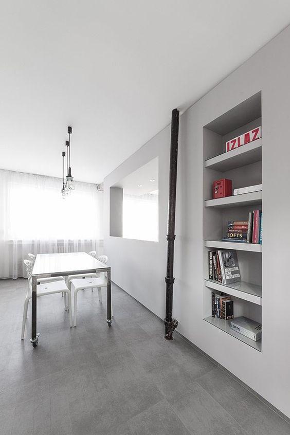 Apartment Minimalist Andreja Bujevac 11 |  Http://www.facebook.com/athen61910 | Pinterest | Minimalist, Apartments And  Building