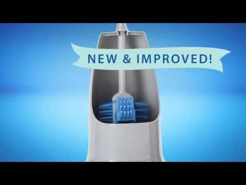 New Amp Improved Norwex Ergonomic Toilet Brush And Holder