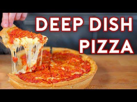 Deep Dish Pizza Inspired By The Daily Show In 2020 Chicago Style Pizza Deep Dish Pizza Chicago Style