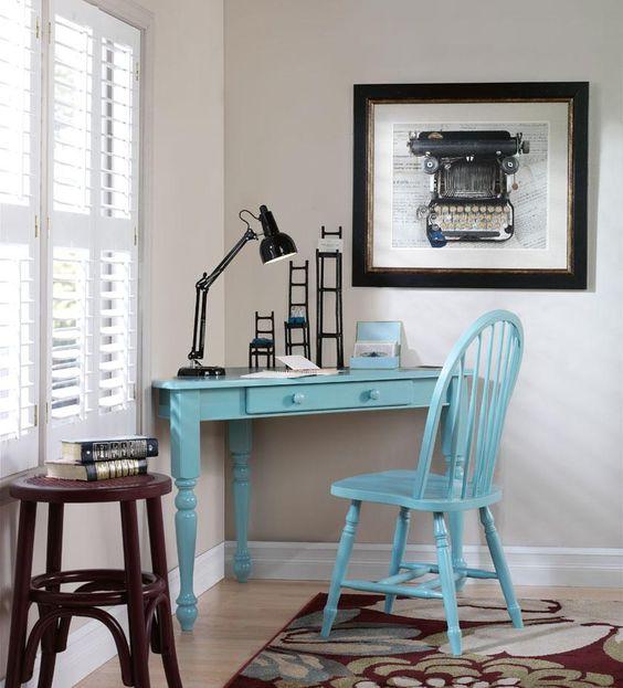 Hamilton corner desk computer desks home office for Furniture and home decor hamilton county