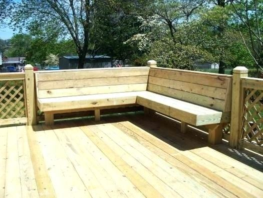 Image Result For Comfortable Seating Deck Bench Plans Deck Bench Seating Deck Bench Decks Backyard