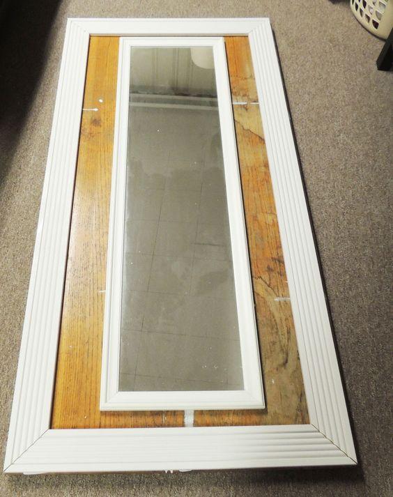 $25 DIY Floor Mirror | Floor mirrors, Diy mirror and Plywood