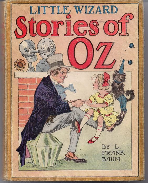 Little Wizard Stories of OZ L FRANK BAUM John R. by ephemarama: