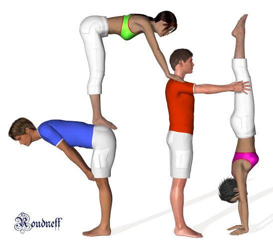 Quatuor Acrosport Roudneff 12 Jpg Yoga For Kids Acro Yoga Partner Yoga