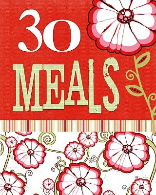 30 meal planner