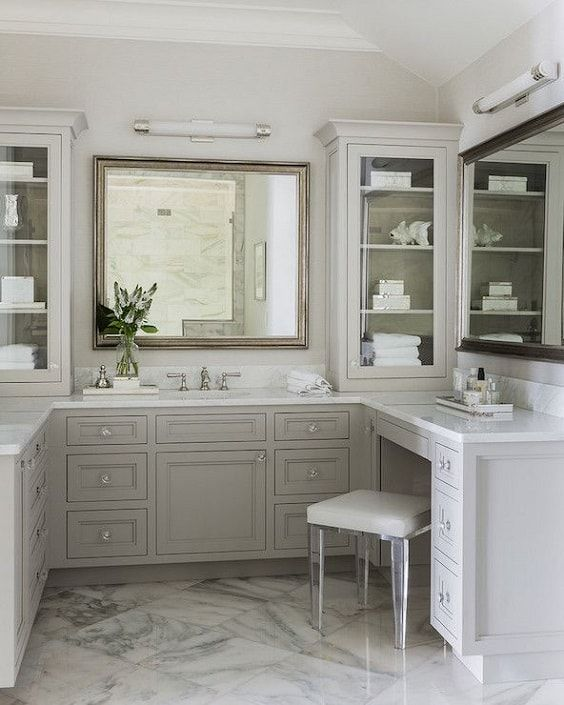 Bathroom Vanity With Seating Area 15