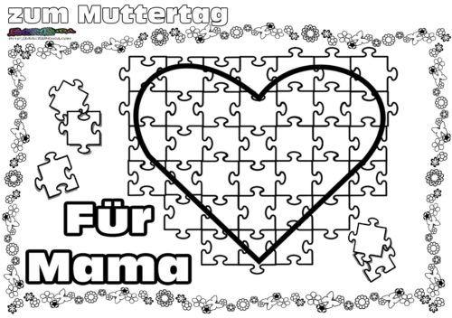 Muttertag Ausmalbild Malvorlage Gruss Mit Herz Babyduda Malbuch Muttertag Malvorlagen Muttertag Muttertags Bastelarbeiten
