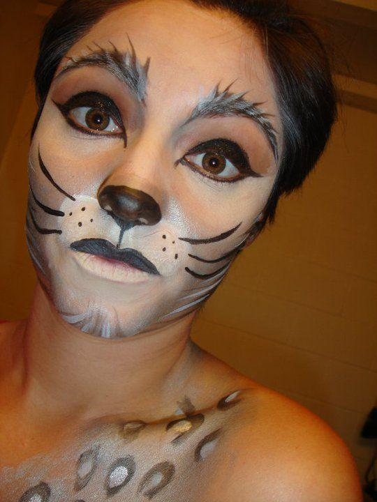 My Face Painting for Halloween 2011.