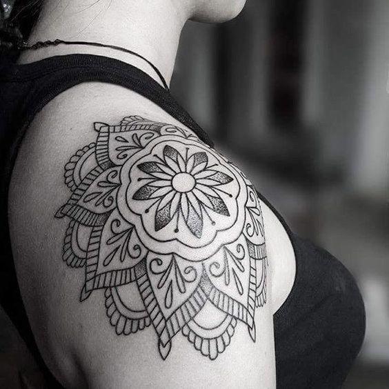 107 Tatuajes Mandalas En El Hombro Actualizado Tatuajes Mandalas Hombre Tatuajes Mandalas Brazos Tatuados