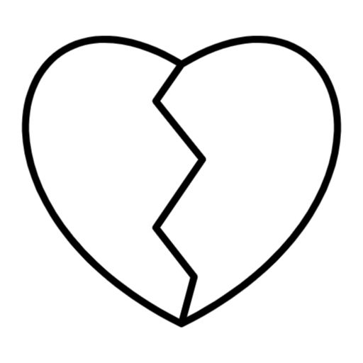 Free Broken Heart Png Svg Icon Heart Icons Icon Broken Heart
