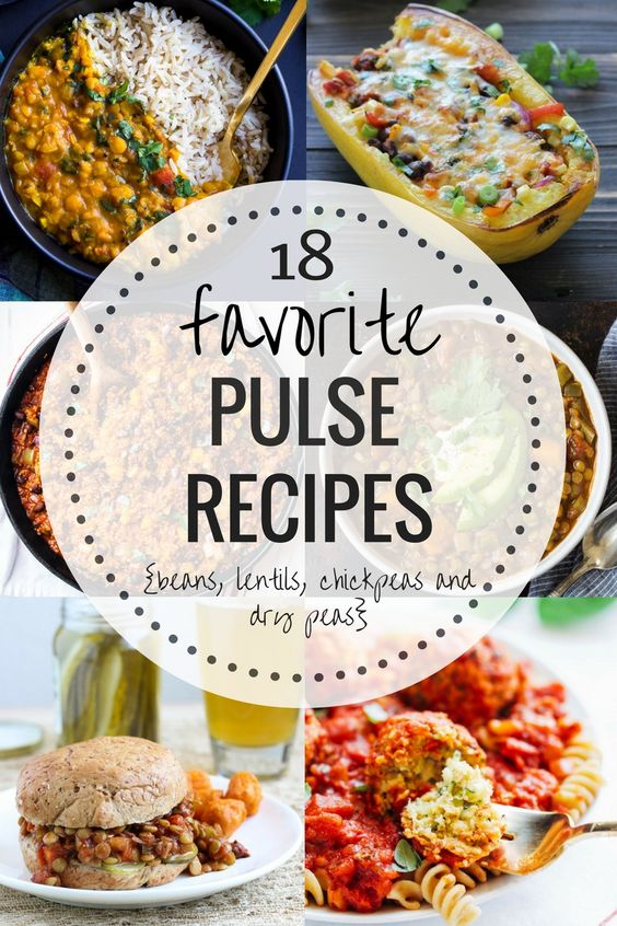 18 Favorite Recipes Featuring Pulses {Beans, Lentils, Chickpeas, Dry Peas} - Making Thyme for Health