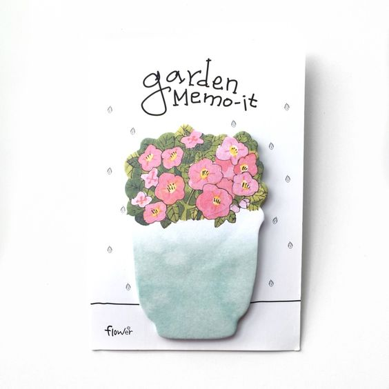 Image of Garden Sticky Notes