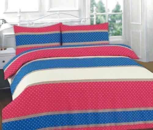 Easton Patterned Duvet// Pillow Case Bedding Set All Sizes