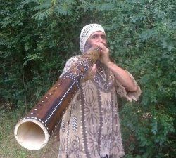 The Didgeridoo has been played for thousands of years by the Australian aborigines.    The sound they can make, imitate the surrounding animals....