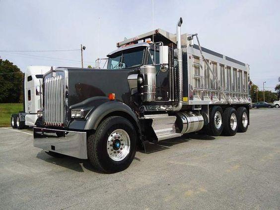 dump trucks for sale | NEW 2013 KENWORTH Dump Truck W900L ... Kenworth Dump Trucks Pics