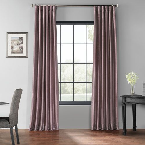 Half Price Drapes Pdch Kbs11bo 108 Smokey Plum 50 X 108 In