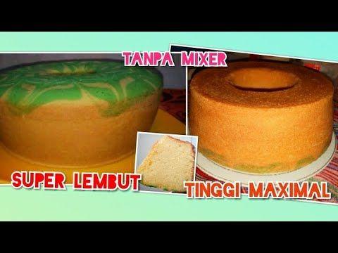 Resep Bolu Jadul Tanpa Mixer Ngembang Tinggi Menjulang Youtube Resep Masakan Kue Resep