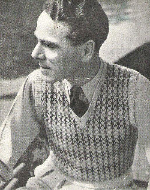 Amazing 1944 Mens Sweater Vest Google Search Seen Change Pinterest Hairstyles For Women Draintrainus