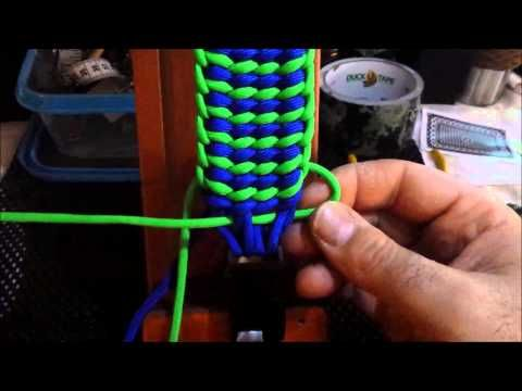 Wide Sanctified Paracord Bracelet - YouTube