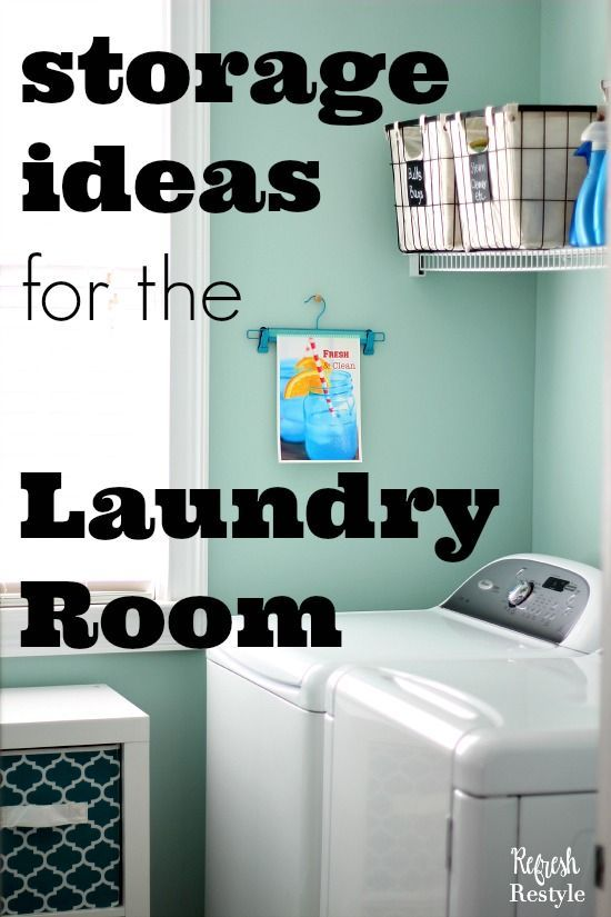 Keep Your Laundry Room Neat And Tidy With Organizing Essentials