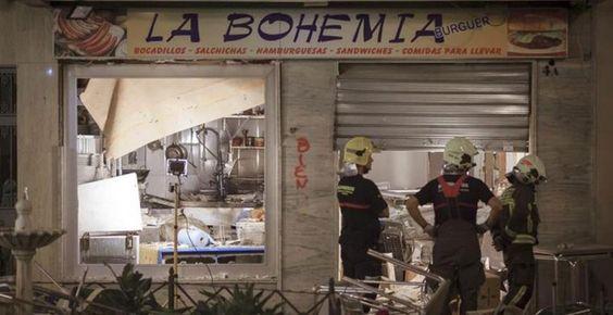 La explosión en una cafetería de Vélez-Málaga deja al menos 77 heridos por deflagración de gas